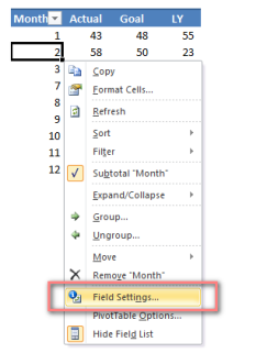 Right click_Field Settings