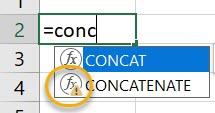 CONCATENATE_FunctionArgument